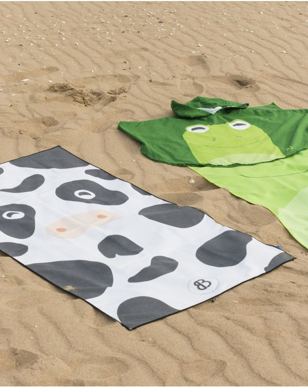 Drap de plage - Anuanua - Vache - 140x70 cm