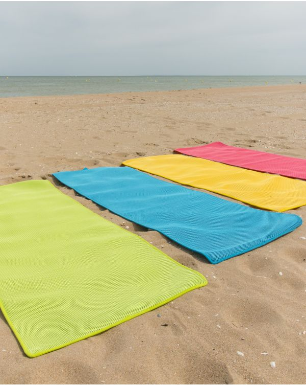 Tapis de plage (Memory Mesh®) - Moerani - Naïade - 200x70 cm