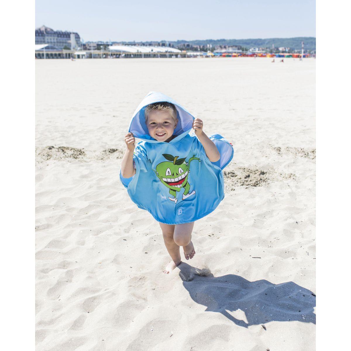 Slumbersac Poncho de bain Enfant Pomme 5-8 ans