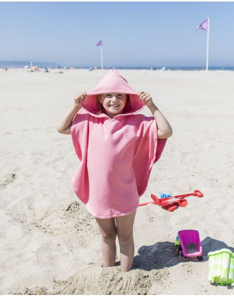 Poncho de plage enfant - Anuanua - Hollywood - 120x60 cm