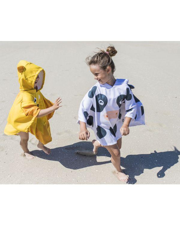 Poncho de plage enfant - Anuanua - Vache - 120x60 cm