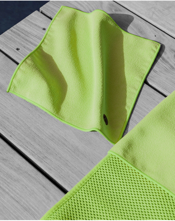 Serviette Mains/Visage - Anuanua - Lime - 30x30 cm