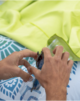 Drap de plage - Heiata - Lime - 180x100 cm