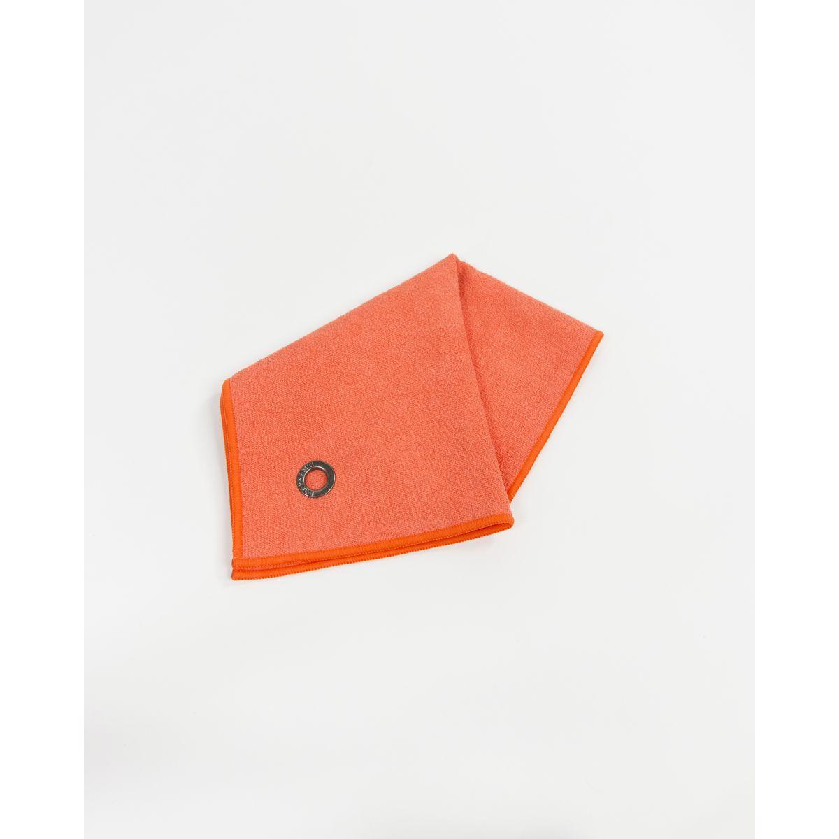 serviette mains visage microfibre anuanua orange volcan bodynamic. Black Bedroom Furniture Sets. Home Design Ideas