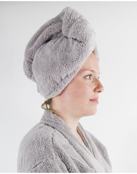 Turban cheveux - Manavai - Perle - 25x68 cm