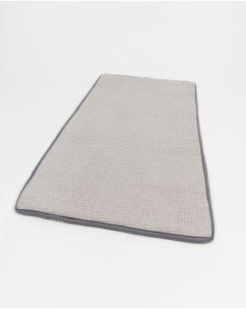 Tapis de bain Memory Mesh® - Taimiti - Perle - 80x50cm