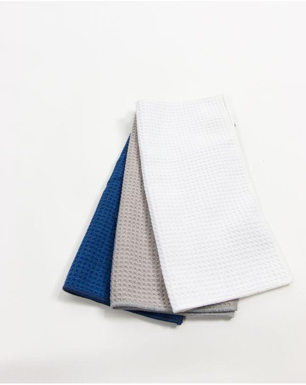 Serviette invité - Taimiti - Perle - Microfibre